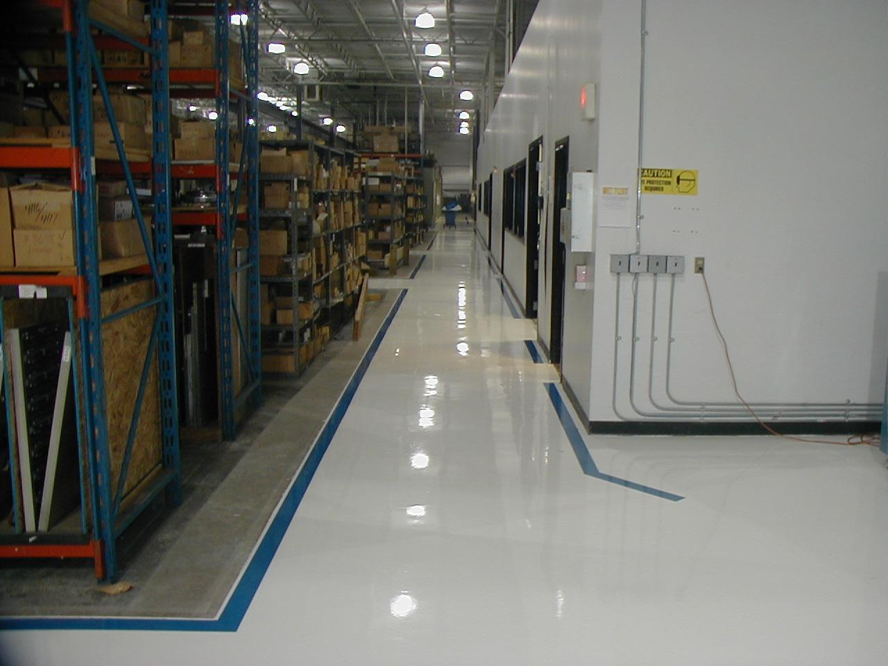 Epoxy Flooring | Commercial & Industrial Polished Concrete