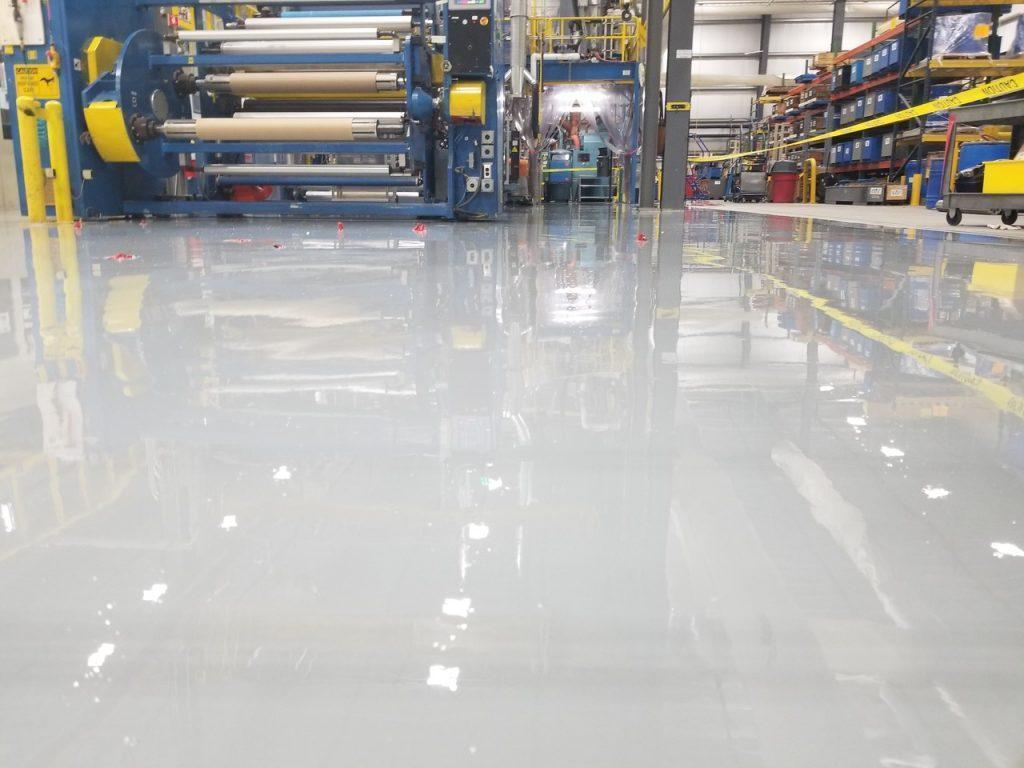 Seamless Epoxy Flooring Systems