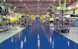 industrial flooring for manufacturing
