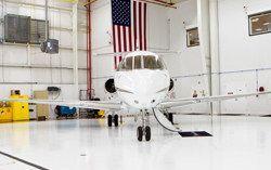 industrial flooring for aerospace industry