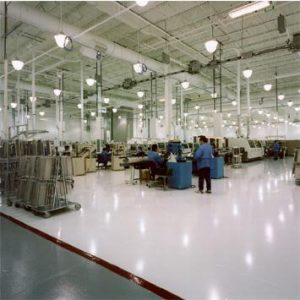 industrial flooring for technology industry