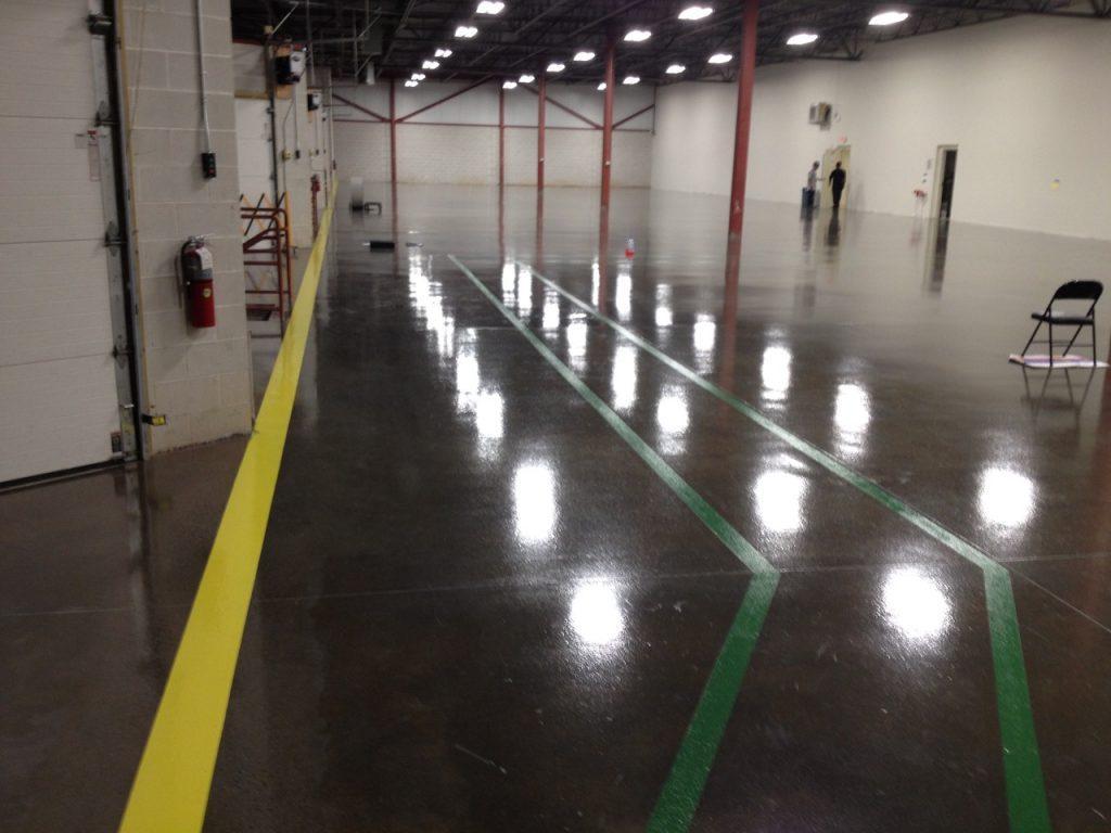 Thin Mil Seamless Epoxy Flooring Systems