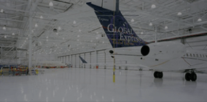 Airport Hangar & Aviation Epoxy Flooring Project