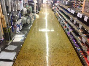 industrial flooring for public spaces