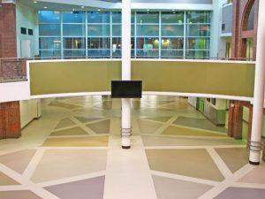 industrial flooring for public places