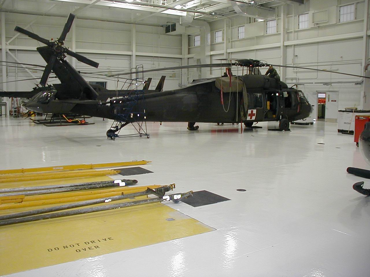 Army National Guard Epoxy Flooring Project